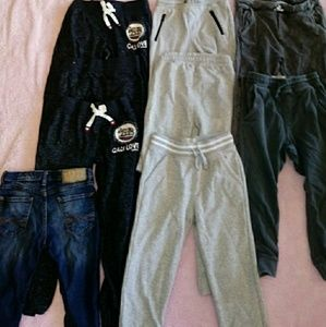 Zara Bottoms - Box #2 BOYS ZARA JRANS+JOGGERS+SHORTS 7 LOT OF 24